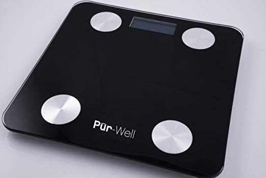 Pur Well Living Body Fat Bluetooth Bathroom Scale Review